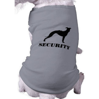 Italian Greyhound Silhouette with Custom Text Shirt