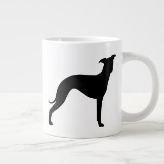 Italian Greyhound Silhouettes Large Coffee Mug