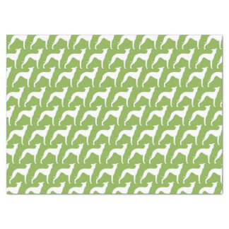 Italian Greyhound Silhouettes Pattern Tissue Paper