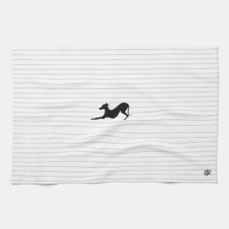 Italian Greyhound Tea Towel, Kitchen Towel