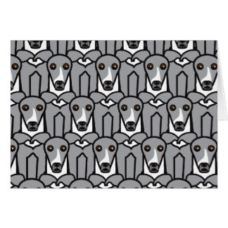 Italian Greyhounds Card