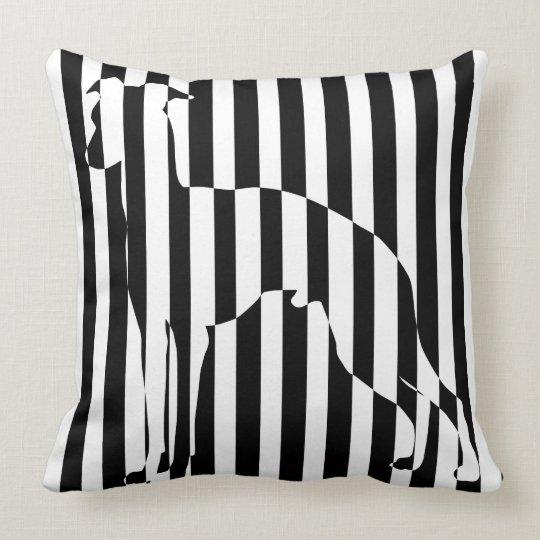 Italian gureihaundokutsushiyon Italian Greyhound Throw Pillow