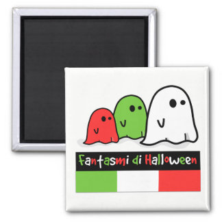 Italian Halloween Ghosts, Fantasmi di Halloween Magnet