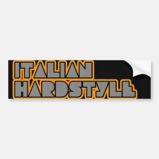 Italian hardstyle bumper sticker