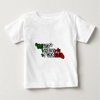 Italian Hip Hop Records Branded Gadgets Baby T-Shirt
