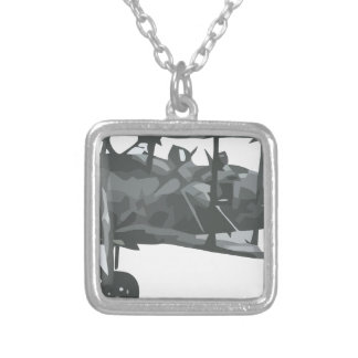 Italian_IMAM_Ro Silver Plated Necklace
