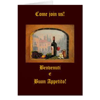 Italian Invitations