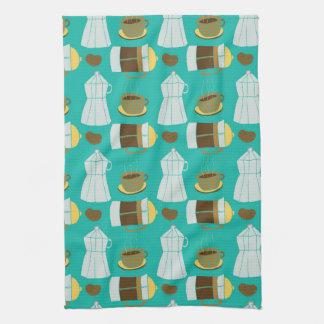 Italian Kitchen Coffee Press Expresso Towel