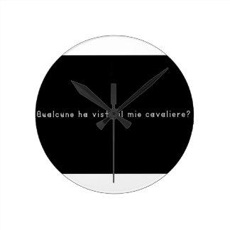 Italian-Knight Clock