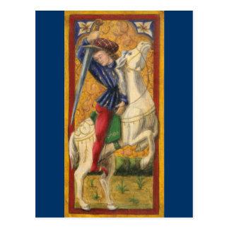 Italian Knight Postcard