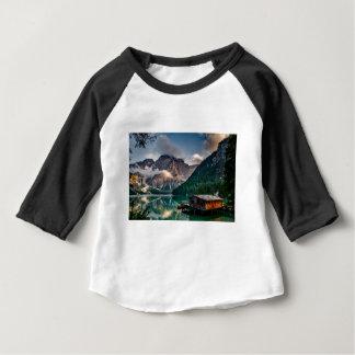 Italian Lake-Side Mountain Cabin Baby T-Shirt