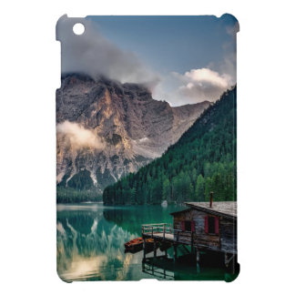 Italian Lake-Side Mountain Cabin iPad Mini Case