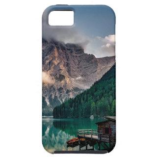 Italian Lake-Side Mountain Cabin iPhone 5 Case