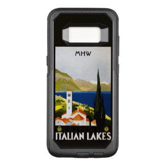 Italian Lakes custom monogram phone cases