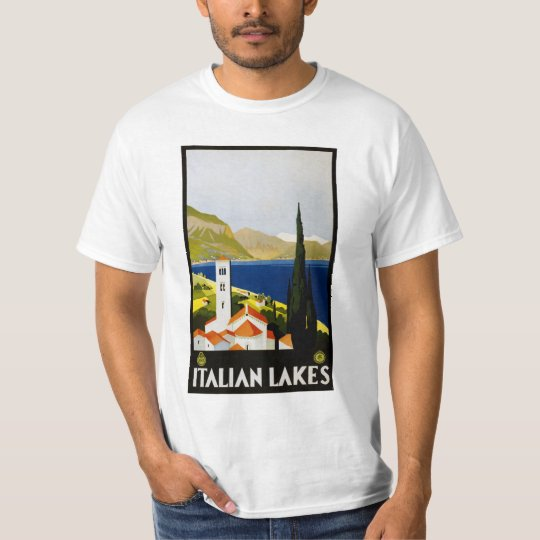 Italian Lakes Italy clothing T-Shirt