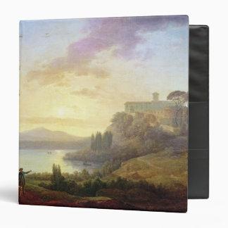 Italian Landscape, Setting Sun Binder