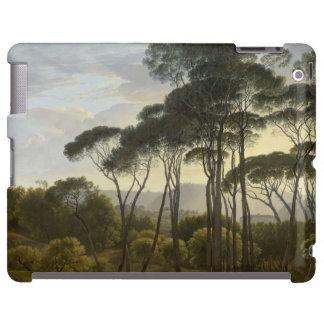 Italian Landscape with Umbrella Pines Oil Painting