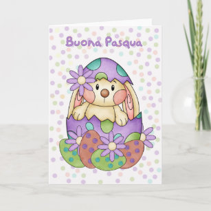 Italian language cards greeting cards more zazzle ca italian language easter card buona pasqua m4hsunfo