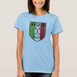 Italian Medieval Crest Womens Top Shirt