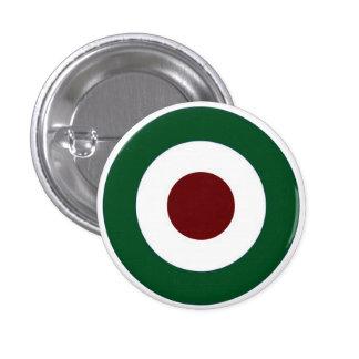 Italian Mod Target 1 Inch Round Button