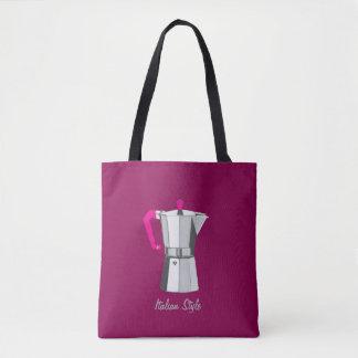Italian Moka Tote Bag