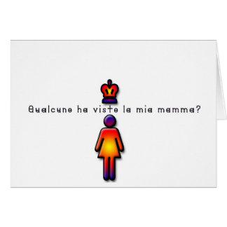 Italian-Mommy Card