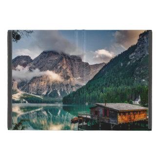 Italian Mountains Lake Landscape Photo Cover For iPad Mini