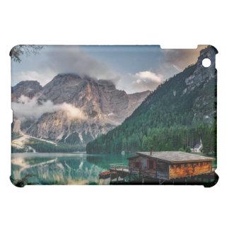 Italian Mountains Lake Landscape Photo iPad Mini Cases