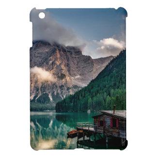 Italian Mountains Lake Landscape Photo iPad Mini Cover