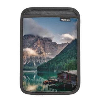 Italian Mountains Lake Landscape Photo iPad Mini Sleeve
