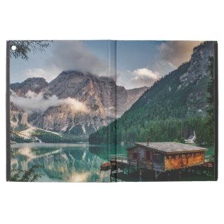 "Italian Mountains Lake Landscape Photo iPad Pro 12.9"" Case"