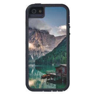 Italian Mountains Lake Landscape Photo iPhone 5 Case