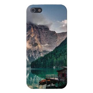 Italian Mountains Lake Landscape Photo iPhone 5 Cases