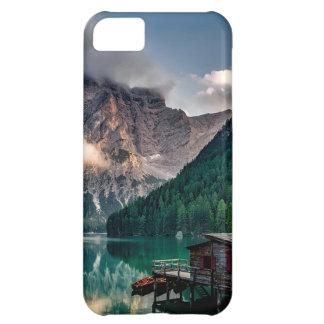 Italian Mountains Lake Landscape Photo iPhone 5C Cases