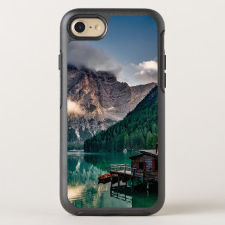 Italian Mountains Lake Landscape Photo OtterBox Symmetry iPhone 8/7 Case