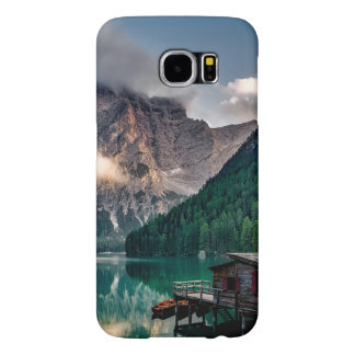 Italian Mountains Lake Landscape Photo Samsung Galaxy S6 Cases