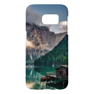 Italian Mountains Lake Landscape Photo Samsung Galaxy S7 Case