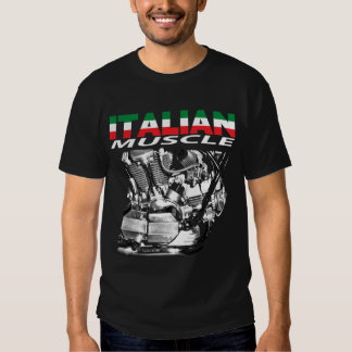 Italian muscle black tshirts
