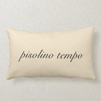 "Italian ""Nap Time"" Cream Pillow"