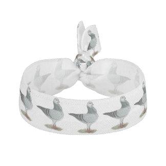 Italian Owl Grizzle Pigeon Hair Tie