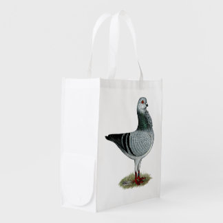 Italian Owl Grizzle Pigeon Market Totes