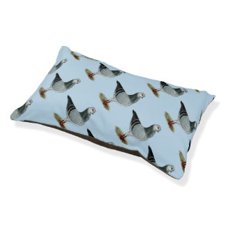 Italian Owl Grizzle Pigeon Small Dog Bed