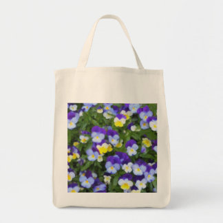 Italian Pansies Tote Bag