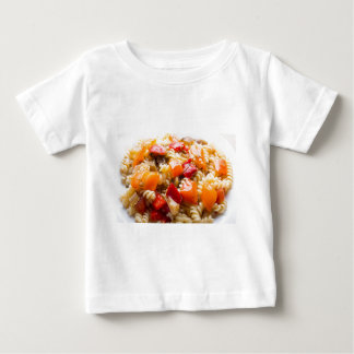 Italian pasta fusilli with vegetable ragout of pep baby T-Shirt