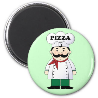 Italian Pizza Chef Magnet