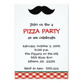 Italian Pizza Party Card