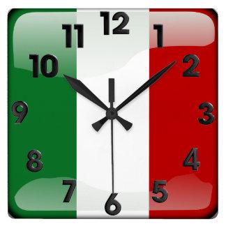 Italian polished wall clocks