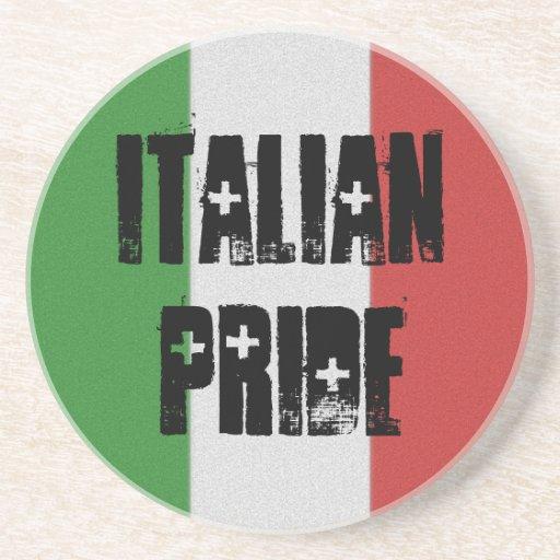 Italian Pride Italy Flag Coaster