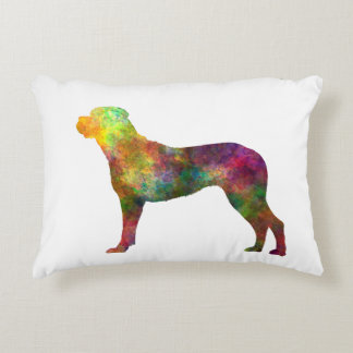 Italian Privateering Dog 01 in watercolor 2 Accent Pillow