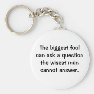 Italian Proverb Keychain No. 13